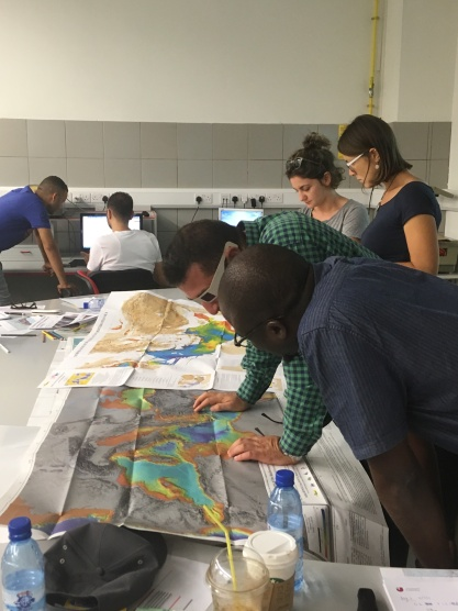 Training School 1: Seismic interpretation applied to salt basins in different geodynamic settings (Cyprus, September 2017)